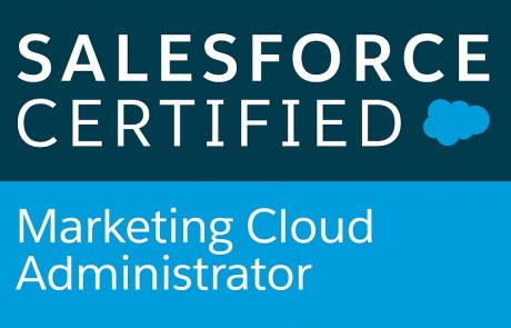 Certification Marketing Cloud admin